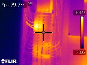 electrical panel infrared inspections